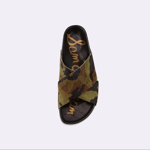 937780c3ca52a2  120 Sam Edelman adora platform slide camo sandal.  M 5c40f63612cd4a78367ff3ad